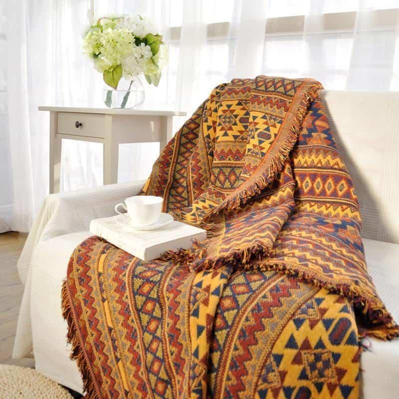 Deepsun Blanket - Bedspread unique and elegant Blanket Yellow / 230x275