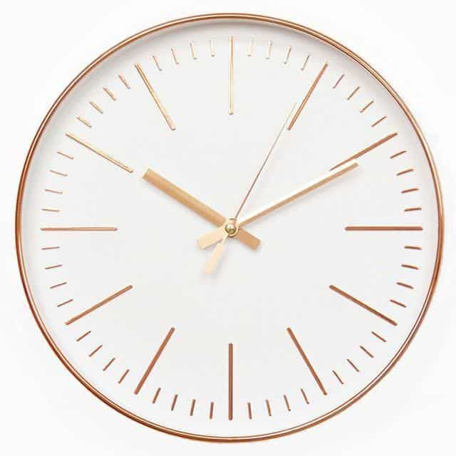The Crown by Söderholm Wall clock Sparkling Gold