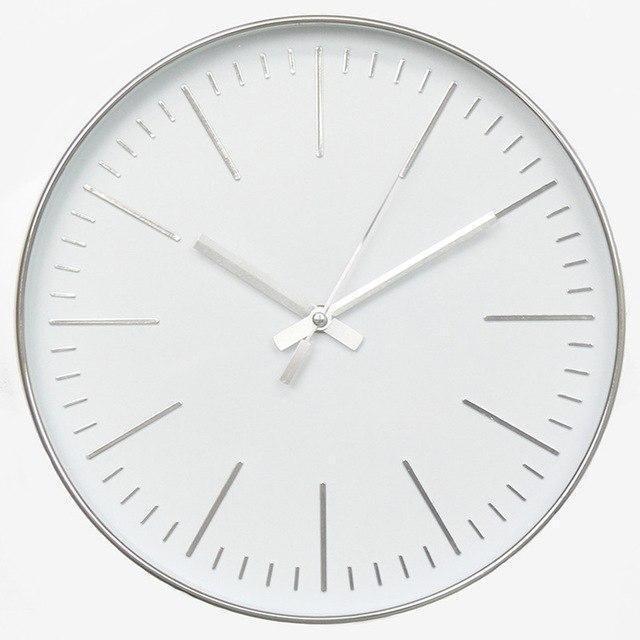 The Crown by Söderholm Wall clock Platinum Silver