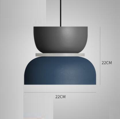 Super Polka Pendant Light Pendant lighting Navy Blue / Large
