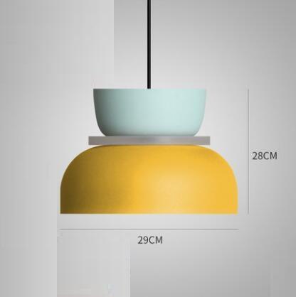 Super Polka Pendant Light Pendant lighting Yellow / Large