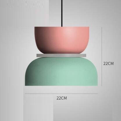 Super Polka Pendant Light Pendant lighting Mint / Large