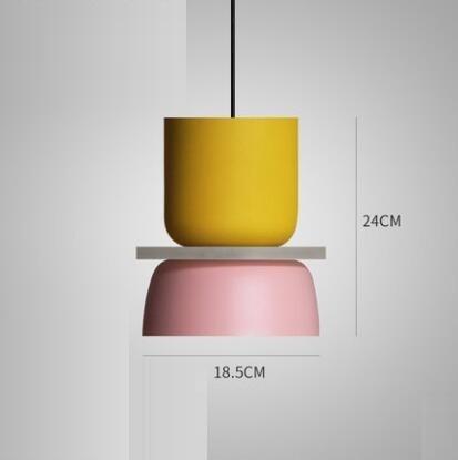 Super Polka Pendant Light Pendant lighting Pink / Medium
