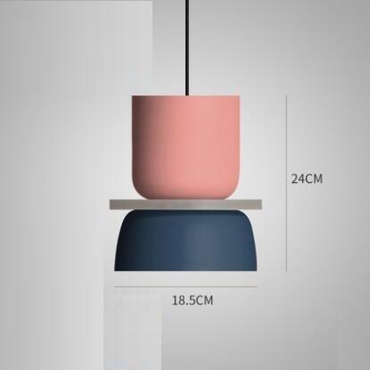 Super Polka Pendant Light Pendant lighting Navy blue / Mediun