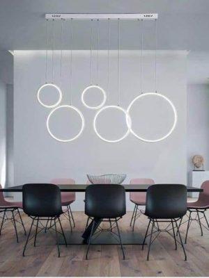 360° S2 Modern Ring Chandelier