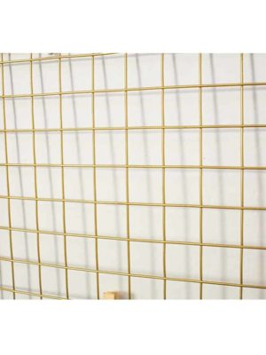 Elementary by Henry | Photo Gold Wire Grid Frame | Wall Grid + Baskets