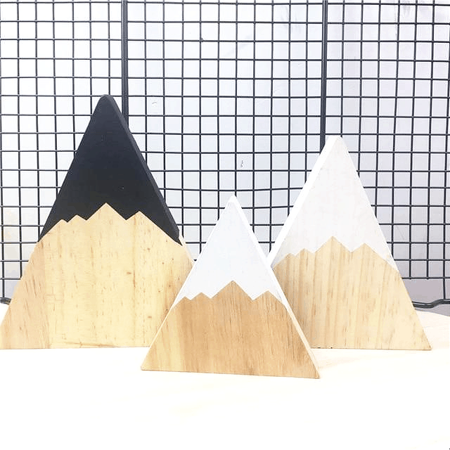 Instagram Nordic Objects| Wood Camera | Shelf Decoration
