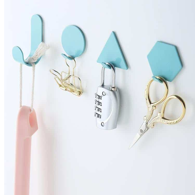 Capri & Pulp Nordic Inspired Wall Hook 4pcs
