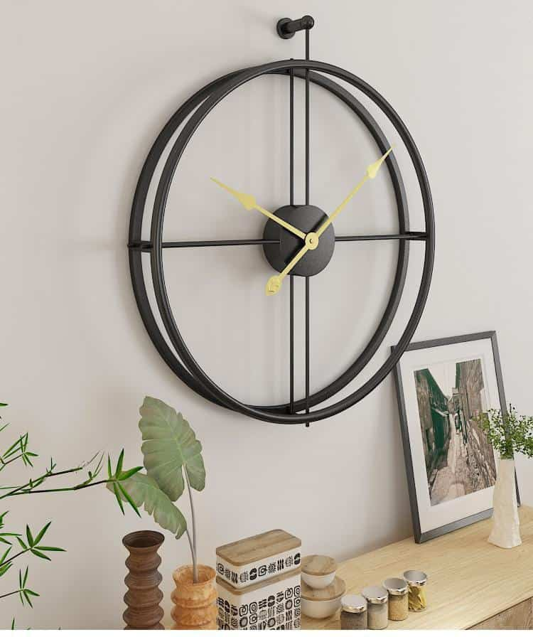 Silent by Frederick Vaux /wall clock Wall clock