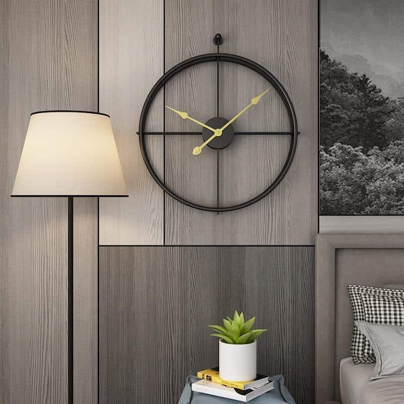 Melody Wall Clock / Wrought Iron Wall Clock