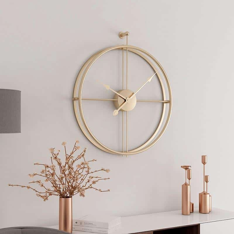Melody Wall Clock / Wrought Iron Wall Clock