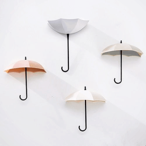 Mary Poppins Umbrella Wall Hooks /6pcs