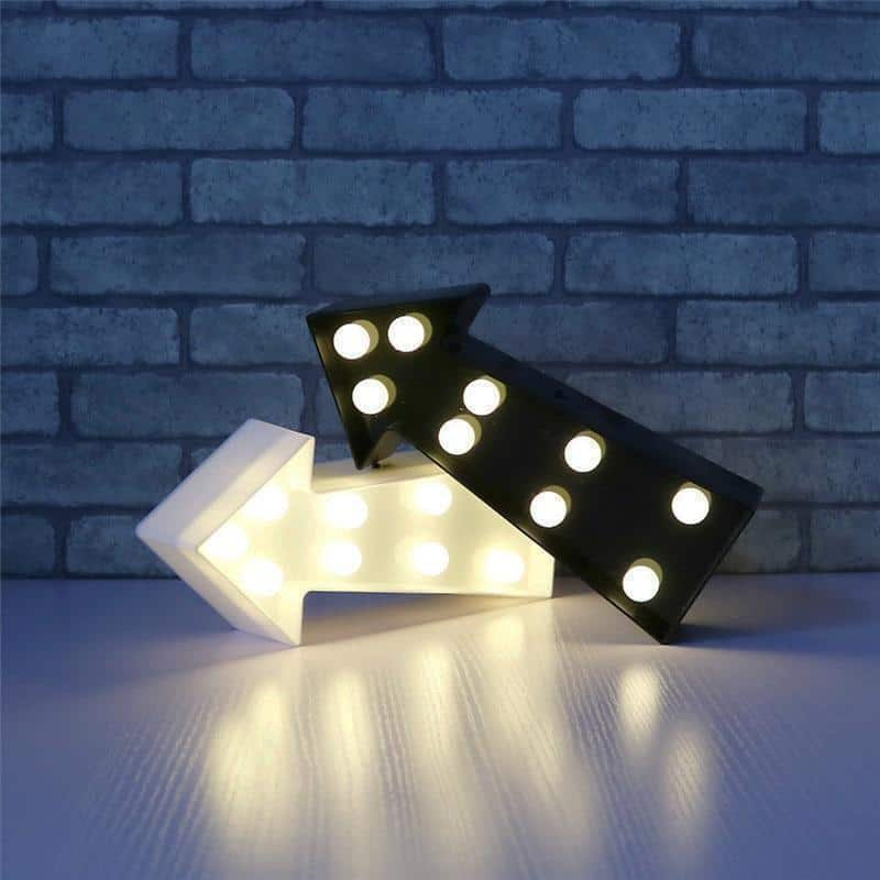 Left&Right by Superstar Table/Wall lamp Black
