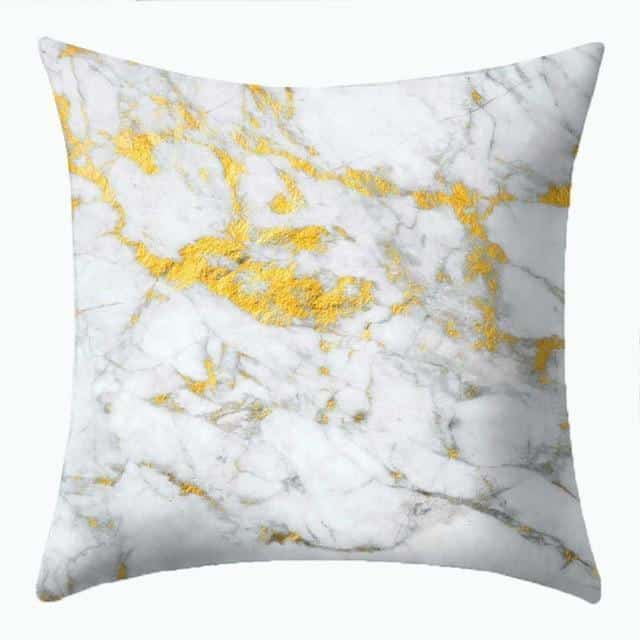 Purity Celiné Cushion Pillow Purity Marble Gold