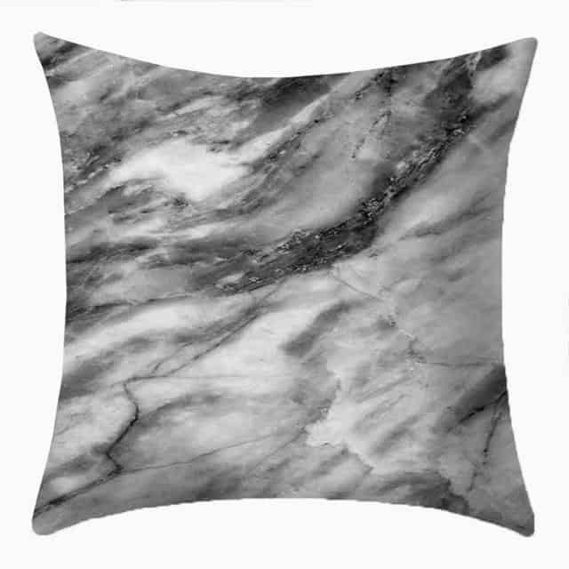 Purity | Rock Marble Effect| Cushion