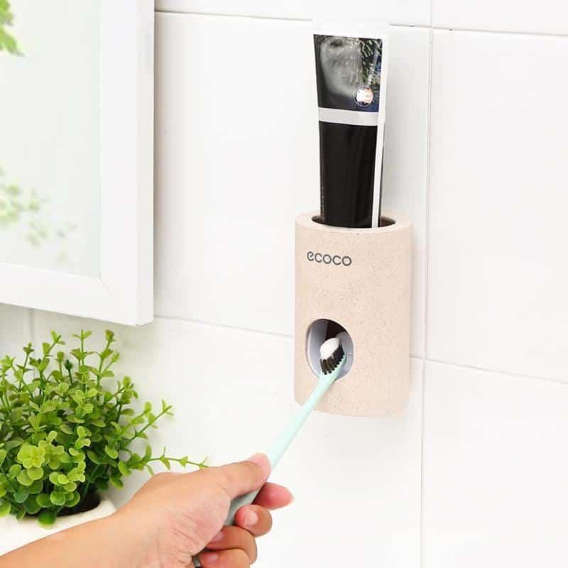Freeze Breath Toothpaste Dispenser unique and elegant Bathroom organizer