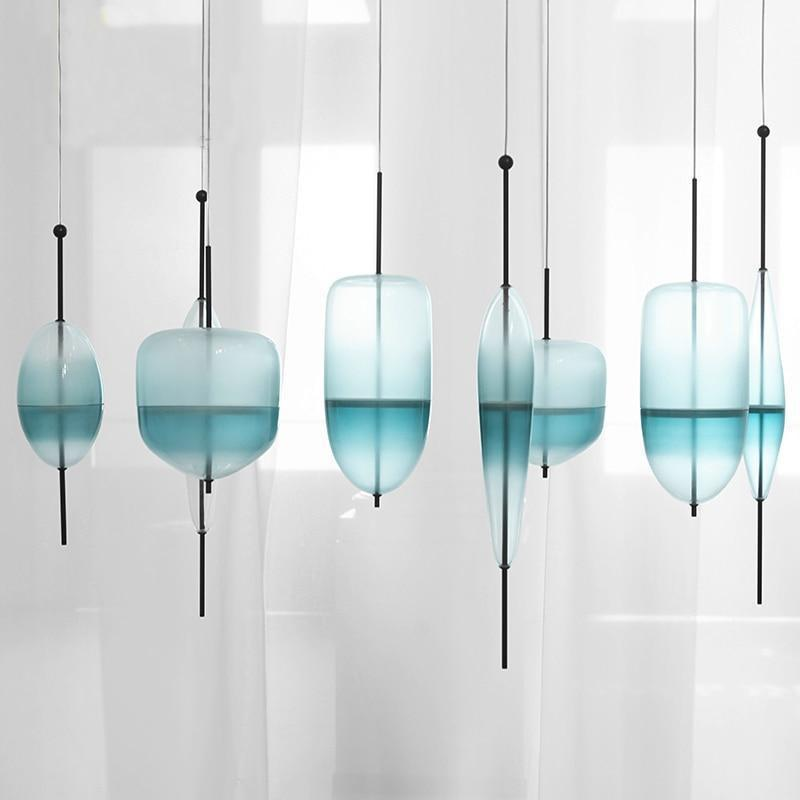 Chromatography by Ingrid Light unique and elegant Pendant lighting