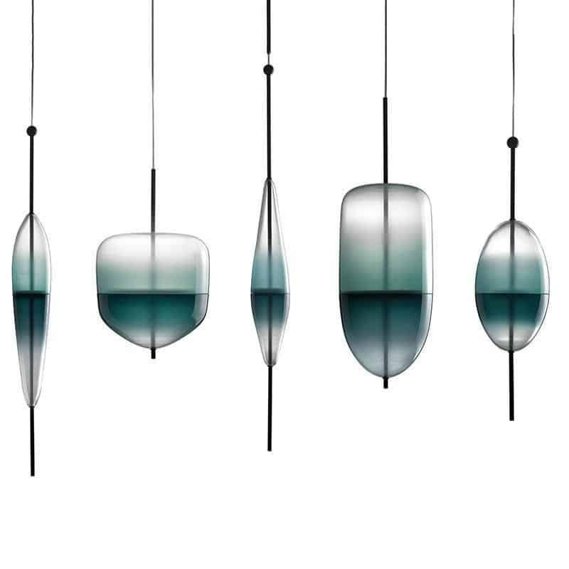 Chromatography by Ingrid Light unique and elegant Pendant lighting
