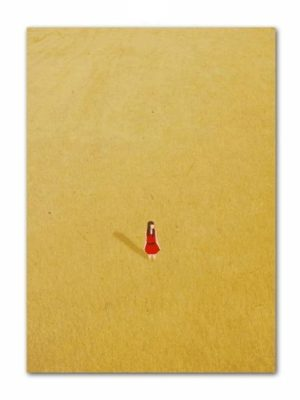 Girl In Yellow Rye Field | Swim Girl | Unframed Canvas Art