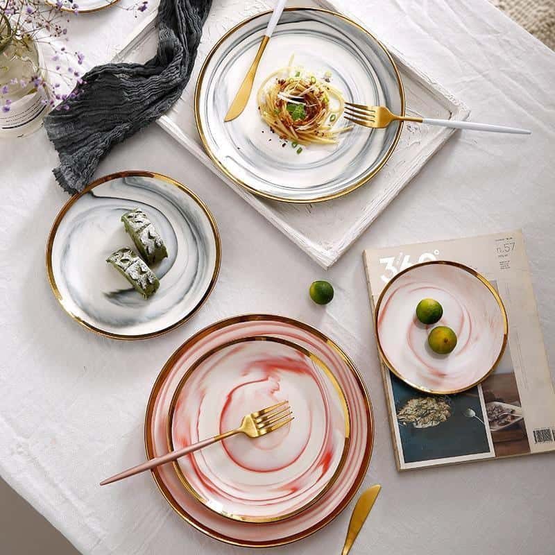 Mirage by Celiné Plate Plates