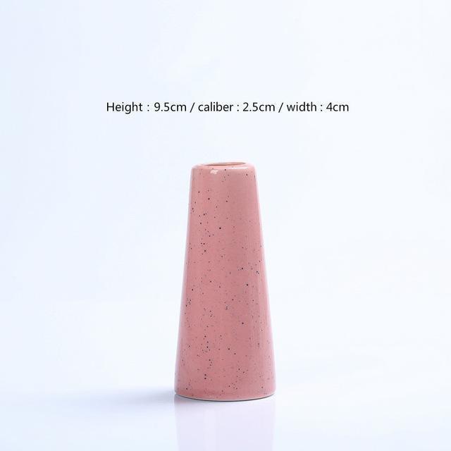 Karma by Jasmine Bergmann Vase Vulcano / Pink