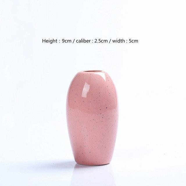 Karma by Jasmine Bergmann Vase Stone / Pink