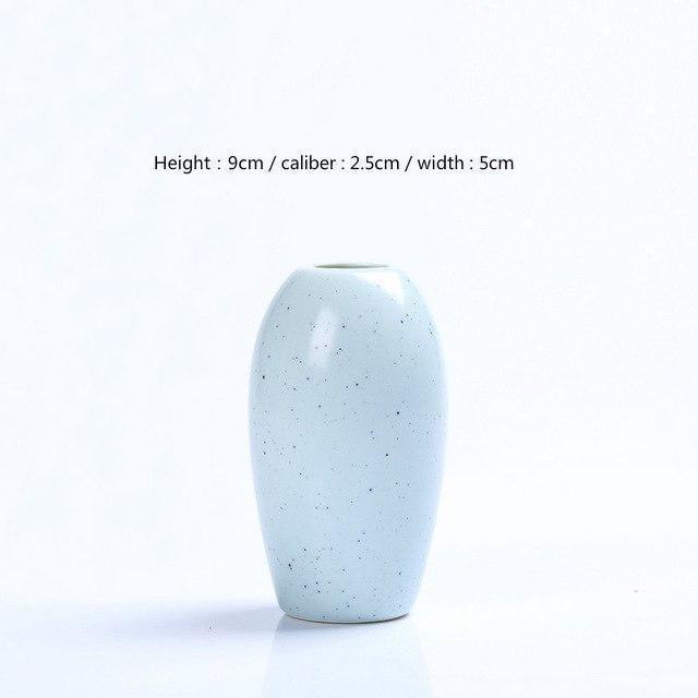 Karma by Jasmine Bergmann Vase Stone / Blue