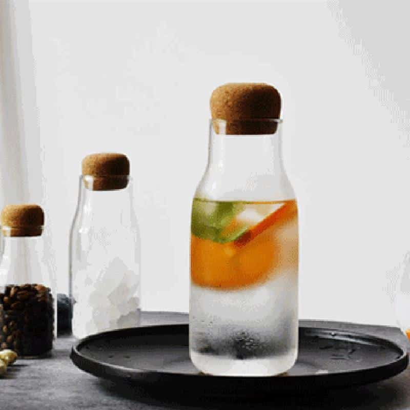 Theressa Glass Bottle /2pcs unique and elegant Glass bottle