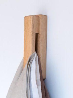 Wood Goliath / wall hook