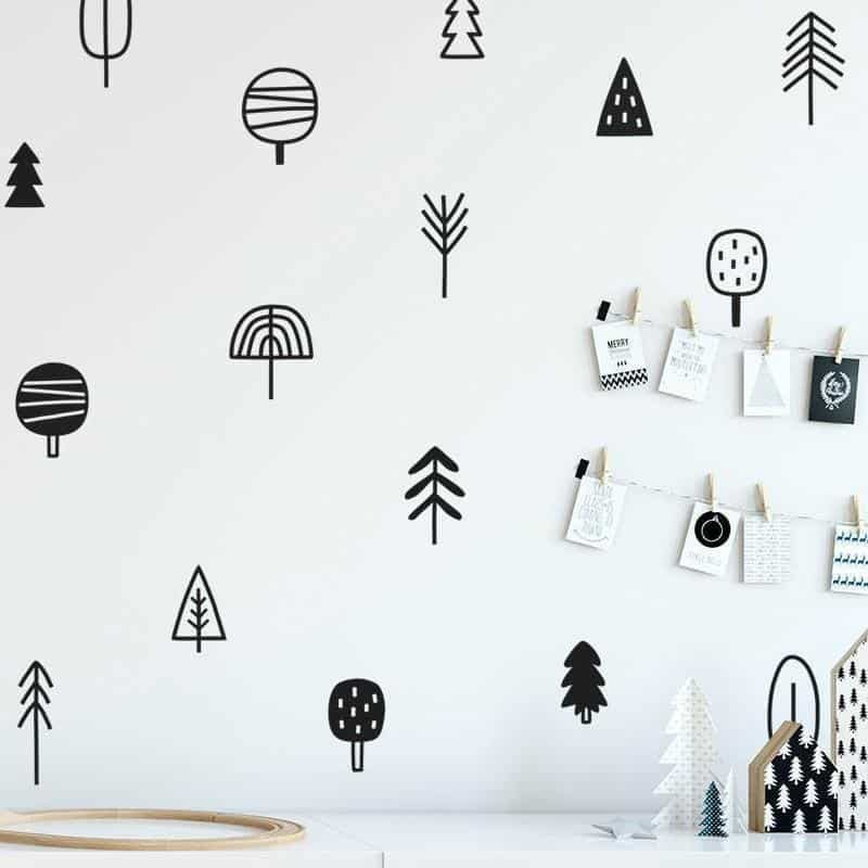 Forest and Tree Kids Wall Decals Wall decals