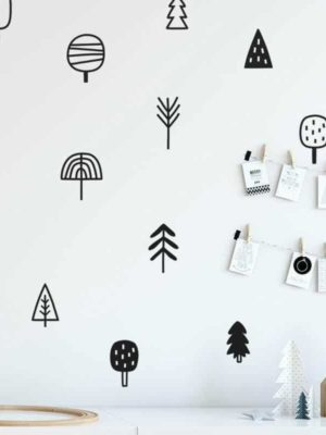 Forest and Tree Kids Wall Decals