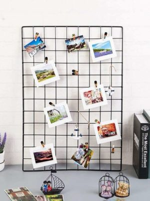 Big Exploration | Metal Photo Wire Grid | Wall Creative Grid | Panel