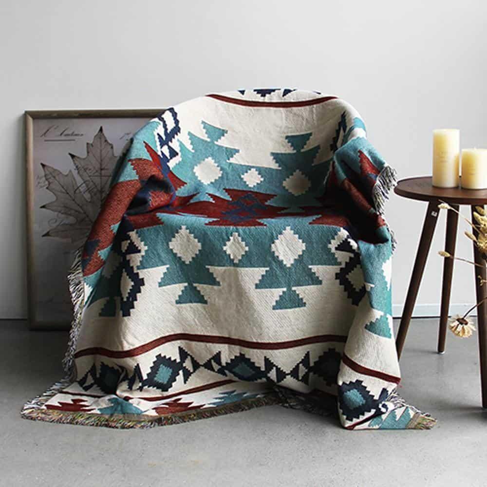 Icefall Blanket - Bedspread Blanket 130x160cm