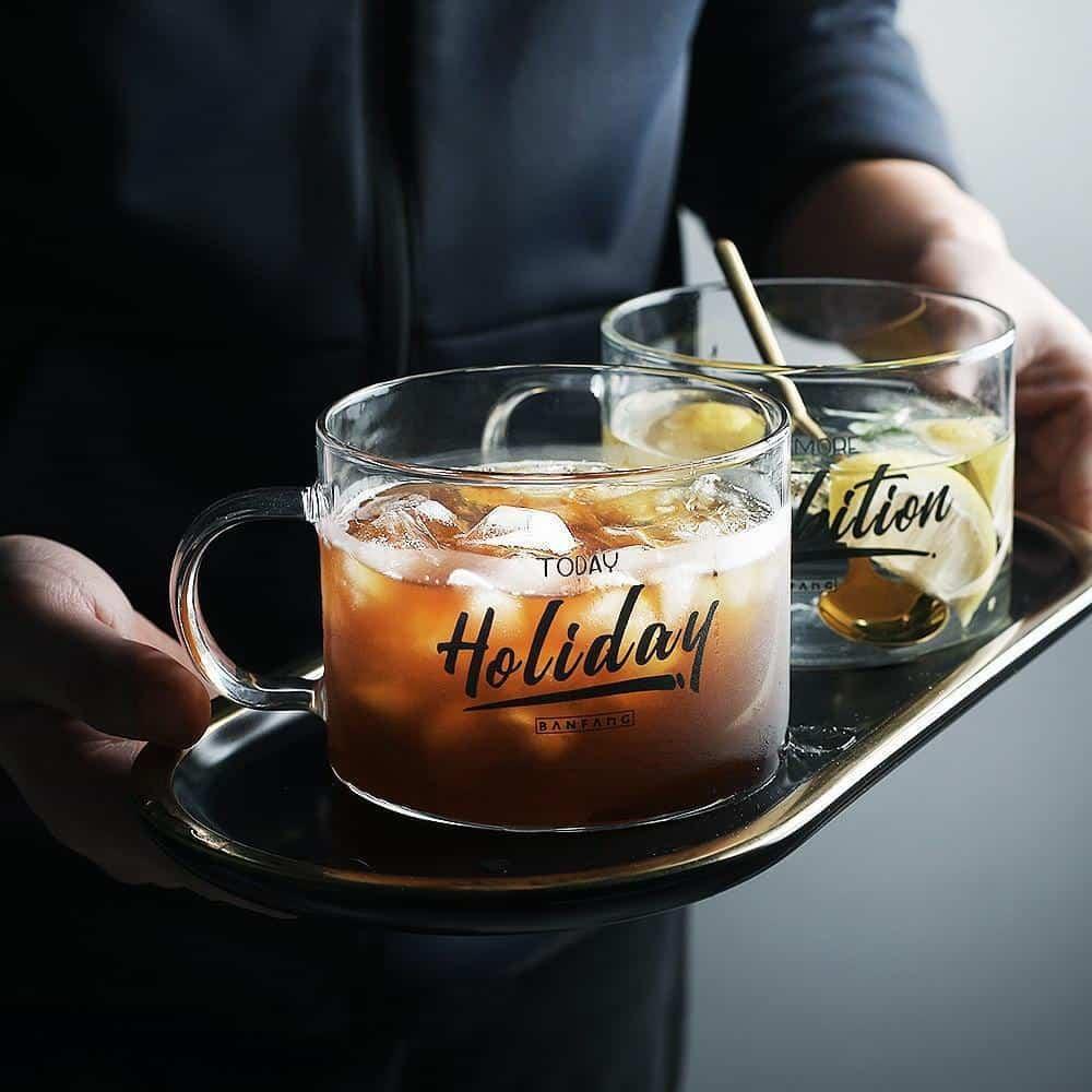 Holiday Glass / 2pcs Drinkware Holiday & Ambition / 500ml