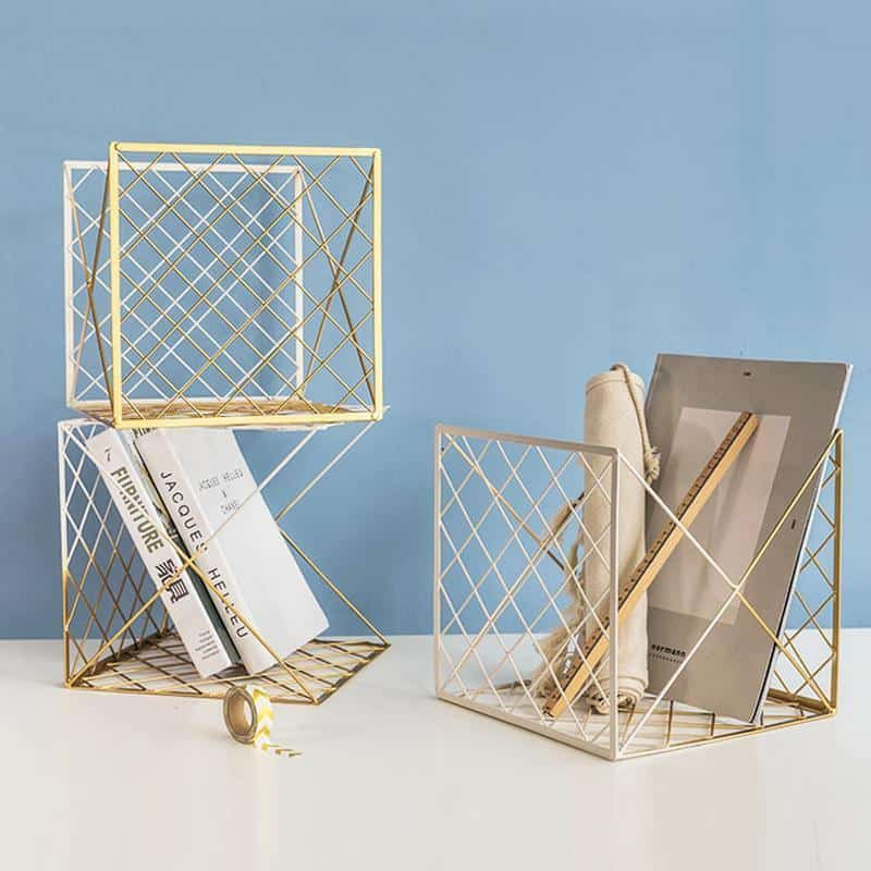 Zig-Zag by Frederick Vaux unique and elegant Basket