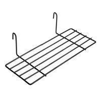 Exploration | Shelf with Baskets | Metal Wire Grid | Wall Creative Panel Shelf Black - shelf