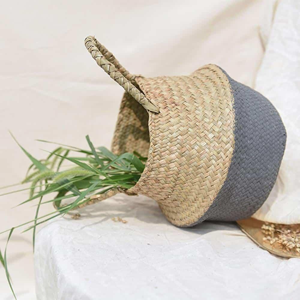 Linnéa by Sebastian Odenberg / Basket Plant pot Gray / 25X27cm