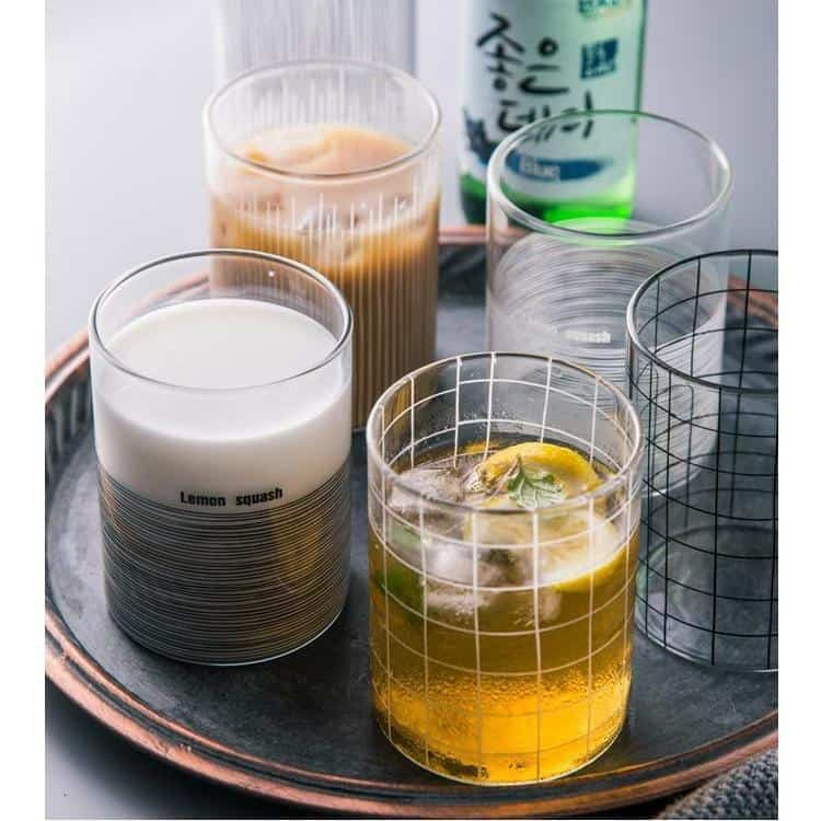 Minimalist Glass / 6pcs Drinkware
