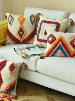 Moroccan Sleepwish Embroidery Cushion