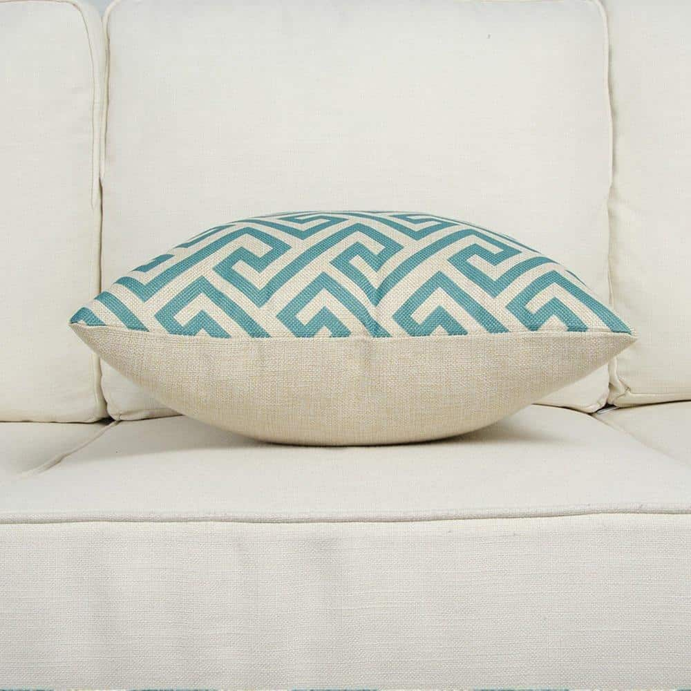 Yacht Laguna | Teal Blue | Celiné Cushion