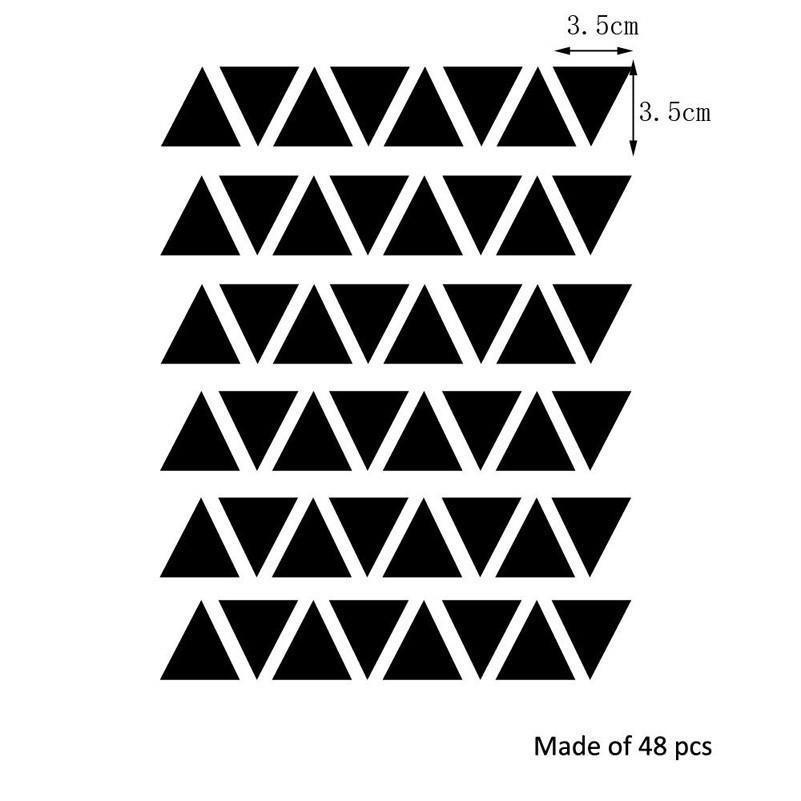 Triangles by Henry Jacobsson Wall Sticker