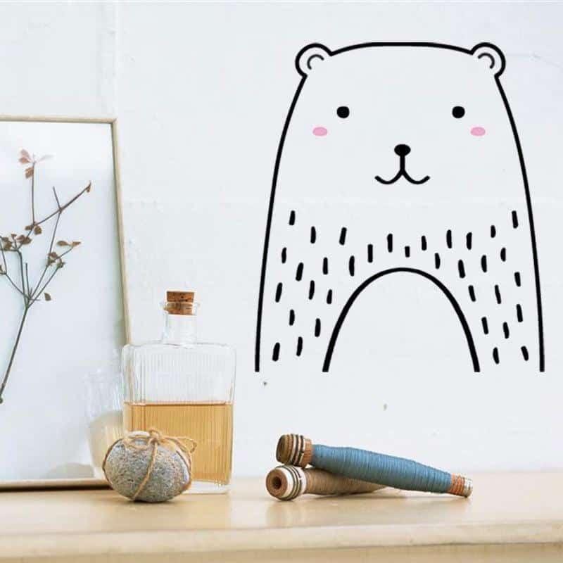 Cutie by Hexa Kids Wall Decals