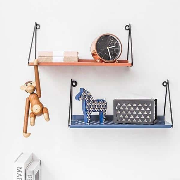 Industrial | Black Metal & Wire | Shields Shelf