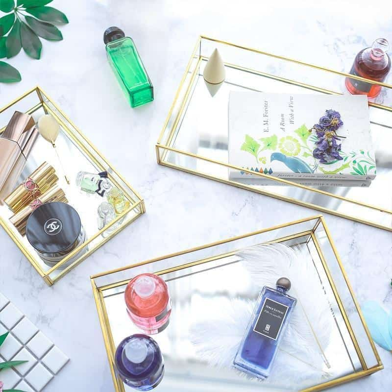 Crystal Clear by Jasmine Bergmann unique and elegant Tray
