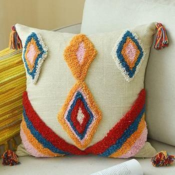 Moroccan Sleepwish Embroidery Cushion