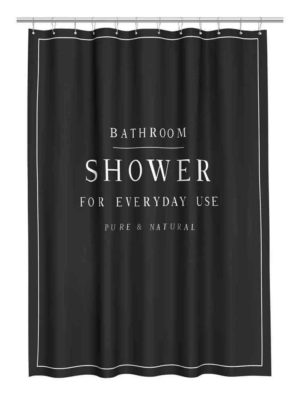 Happy Shower For Luxe Shower Curtain