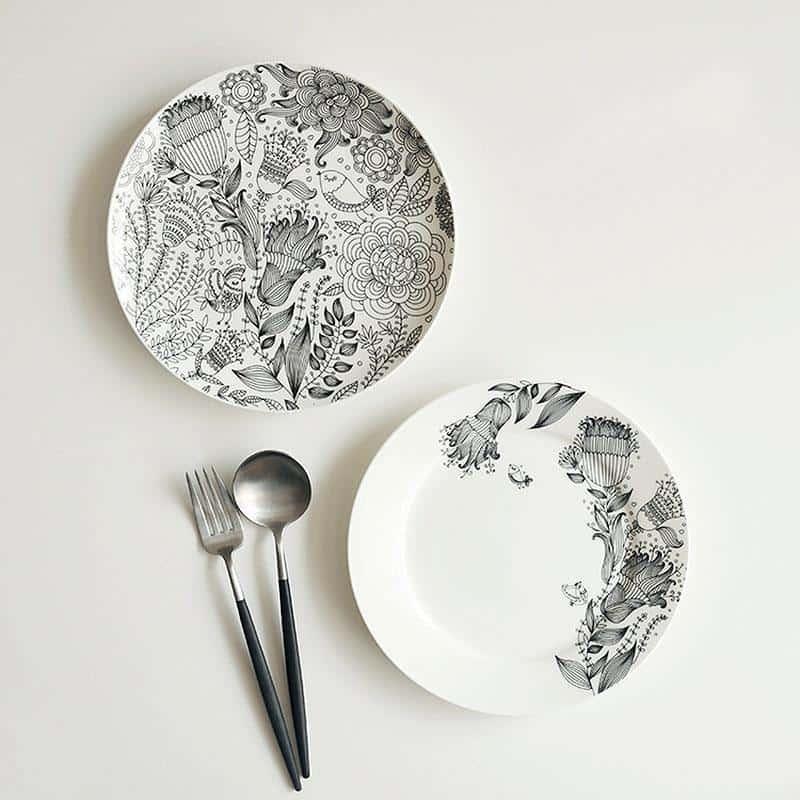 Paramount Porcelain Plate Plates