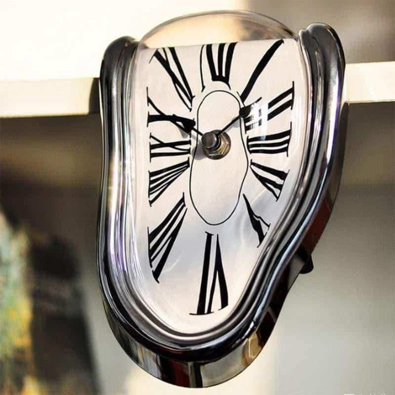 Mysterious Clock | Melting Illusion Clock