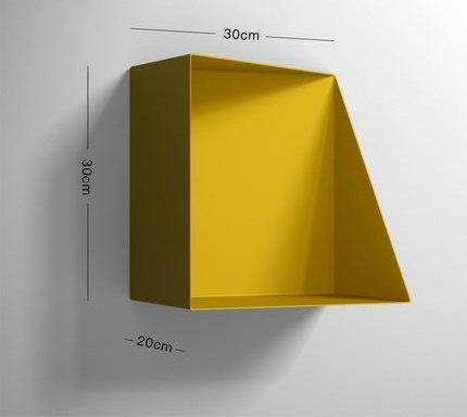 Mysterious Jacobsson / Wall Shelf Shelf Yellow