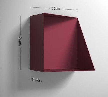 Mysterious Jacobsson / Wall Shelf Shelf Purple